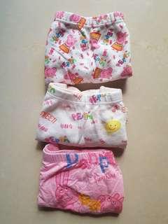 🚚 女童內褲三件組