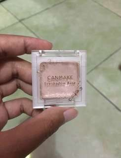 Japanese canmake eyeshadow base