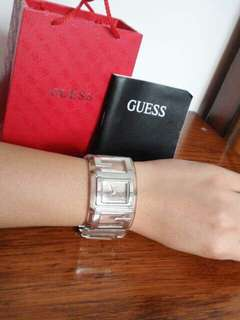 100 % Authentic GUESS bangle wrist watch