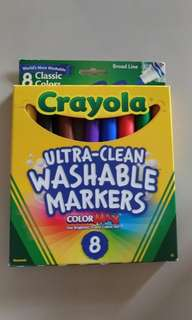 Crayola Ultra- Clean Washable Markers