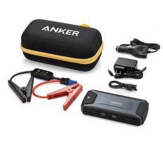 ANKER Portable Emergency Car Jump Starter with tourchlight and Power IQ Handphone Charger