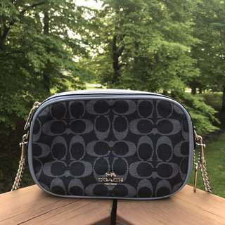 Coach Isla Crossbody Denim Siggy