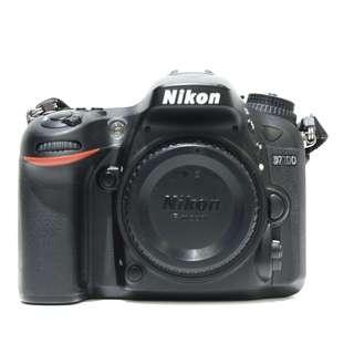 Nikon D7100 Body Only (SC 20K)