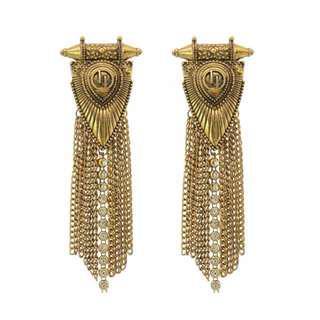 ***Tassel Chain Earring
