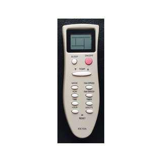 Changhong air conditioning remote control KK10A instead of KK10B