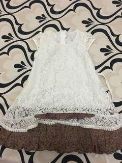 BAJU DRESS BRUKAT
