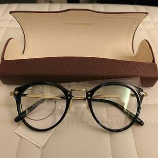OLIVER PEOPLES OP-505 blue optical glasses frame 眼鏡 (made in Italy)
