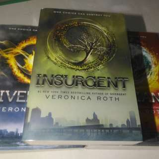 Divergent Trilogy and Fangirl