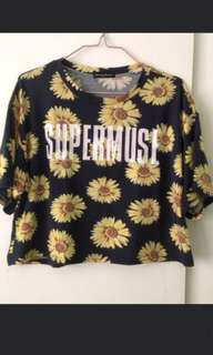 SUPERMUSE croptop