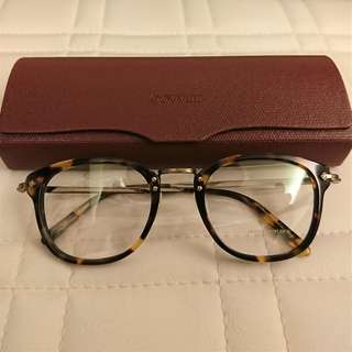 OLIVER PEOPLES OP-506 brown optical glasses frame 眼鏡 (made in Italy)