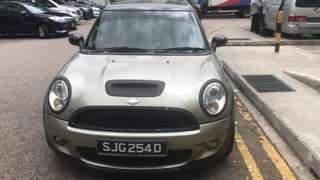 CooperS clubman RM13,000