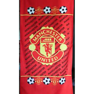 Manchester United Football Club Extra Large Microfiber Towel