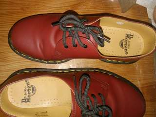 Dr martens cherry red mit original