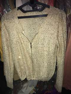 Sequin Jacket (recommend)