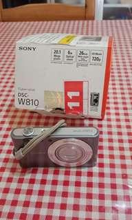 Sony Pocket Camera DSC-W810