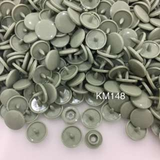 KM148SOFT PINE: T5(12mm) Snap Button, 50 set(200pcs)