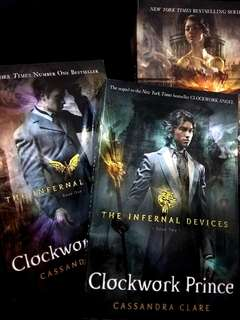The Infernal Devices series by Cassandra Clare