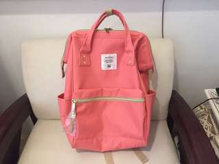 BRANDNEW PINK ANELLO BACKPACK