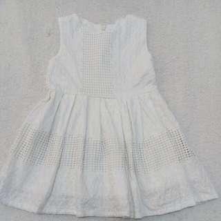 Babies Wear - Eyelet Dress