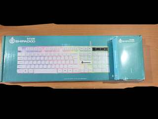 Usb Rainbow Backlit Keyboard & Mouse
