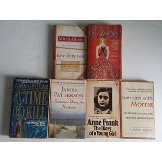 Books [PHP400 for all 6 books]