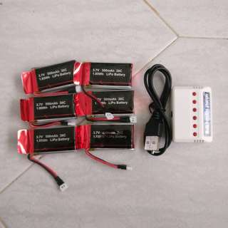 Drone battery and Charger set