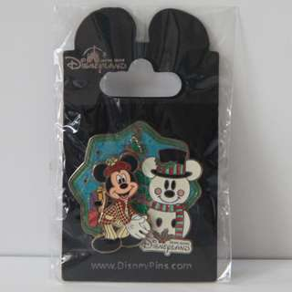 2012 香港迪士尼樂園 Hong Kong Disneyland 聖誕節徽章 Christmas Event Pin - 米奇 Mickey