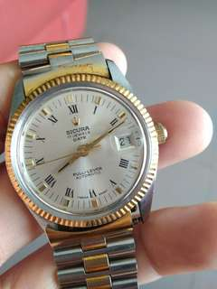 Vintage Sicura Gent automatic watch