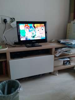 Bedroom color TV. 15 inches with remote control.  In excellent condition