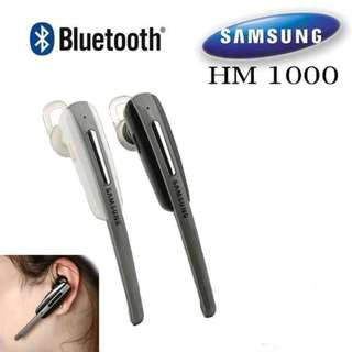 Headset Bluetooth Samsung HM1000 Headset Bluetooth Model Panjang