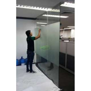Floor to Ceiling_Glass Wall Divider_Office Furniture