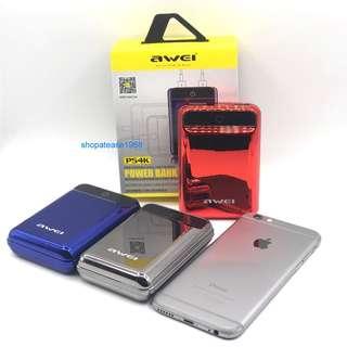 AWEI 10000mAh 迷你外置充電器 充電寶 尿袋 Power Bank P54K