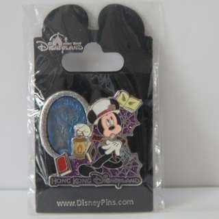 2012 香港迪士尼樂園 Hong Kong Disneyland 萬聖節徽章 Halloween Pin - 米奇 Mickey