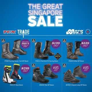 TCX Waterproof Riding Shoes