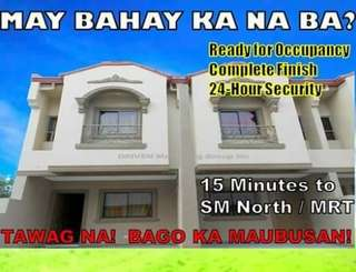 Affordable Townhouse in BAGBAG NOVALICHES QC