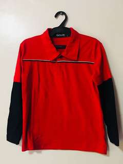 Polo Shirt with longsleeves