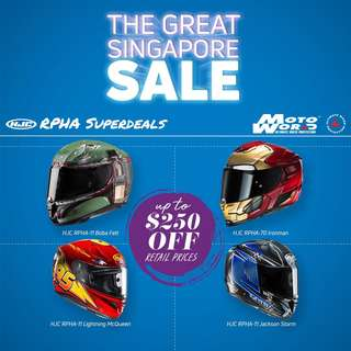 HJC RPHA 11 helmets
