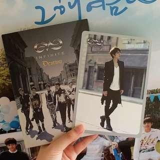 INFINITE Destiny淨專+Woohyun小卡