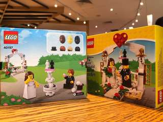 LEGO ® Set 40197 Wedding Favor Set 2018
