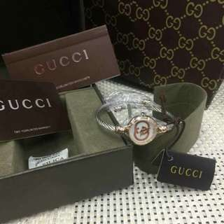 Authentic ladies Gucci watches