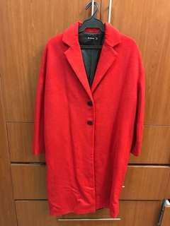 Stradivarius Red Coat