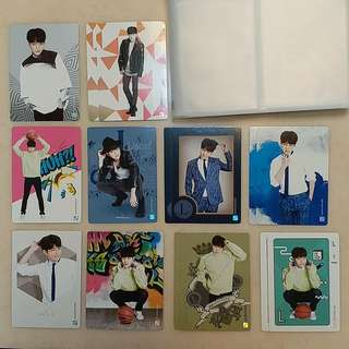 INFINITE第二代Collection Card 明洙set