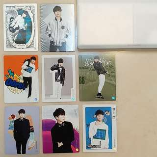 INFINITE第二代Collection Card 優鉉set