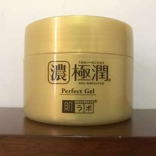肌研濃極潤水凝面霜睡眠面霜 Perfect Gel
