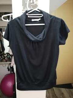 Black blouse FREE SHIPPING