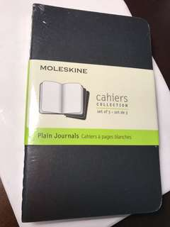 moleskine , cahier collection set of 3