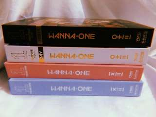 WTS WANNA ONE ALBUMS