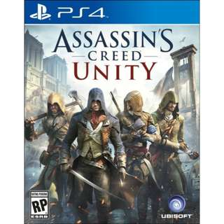 [NEW NOT USED] PS4 Assassin Creed Unity