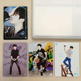 INFINITE第一二代Collection Card Hoya set