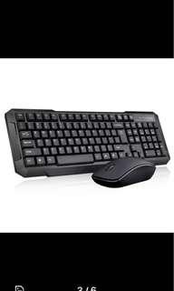 New Wireless Keyboard & Mouse